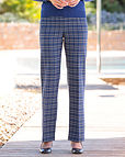 Amalfi Multi Coloured Wool Blend Trousers
