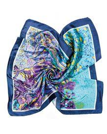 Iris Flower Neckerchief