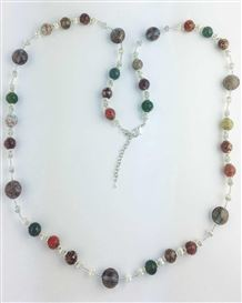 Long Murano Glass Necklace