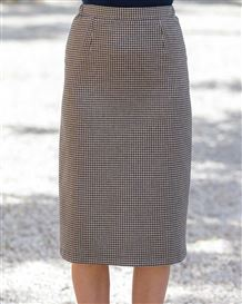 Falmouth Wool Mix Sraight Skirt