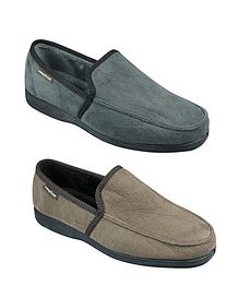 Mens Fabric Slippers