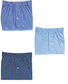 Pack Of 3 Assorted Boxer Shorts - Mens