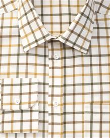 York Tattersall Check Pure Cotton Twill Shirt