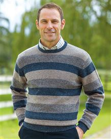 Donegal Stripe Sweater