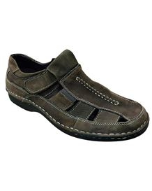 Padders Lightweight Leather Sandal in Brown
