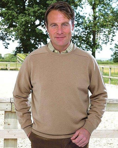Cashmere Crew Neck - Mens