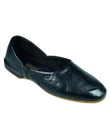 Draper Mens Leather Slippers