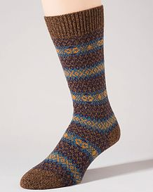 Wool blend Striped Socks