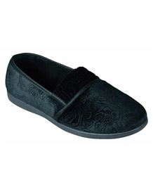 Lotus Georgette Slipper