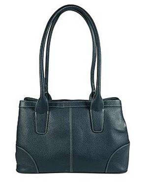 Leather Twin Compartment Bag
