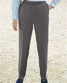 Wool Mix Trousers