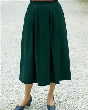 Wool Mix Skirt