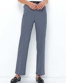 Milano Multi Coloured Wool-mix Trousers
