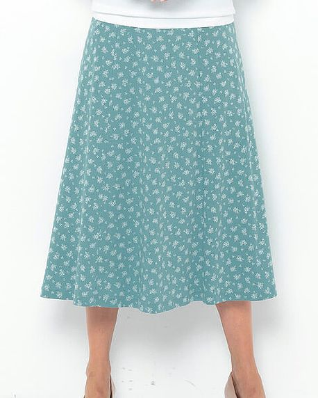 Marilyn Multi Coloured Pure Cotton Skirt