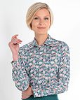 Connie Floral Liberty Print Tana Lawn Blouse