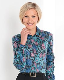 Sally Floral Pure Cotton Blouse