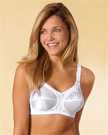 Doreen Luxury Bra Triumph Available in White/Skintone