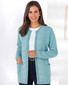 Louisa Fairisle Cardigan