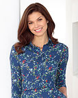 Martina Floral Supersoft viscose Blouse