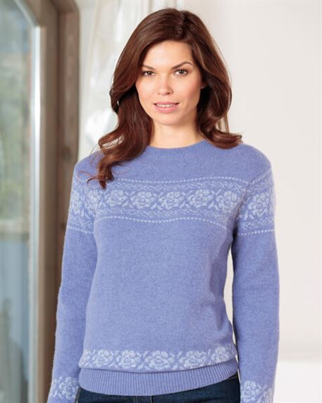 Astrid Lambswool Sweater Lavender