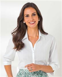 Judy Pure Cotton White Blouse