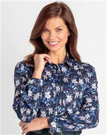 Samantha Floral Pure Cotton Blouse