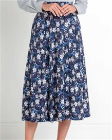 Samantha Floral Pure Cotton Skirt