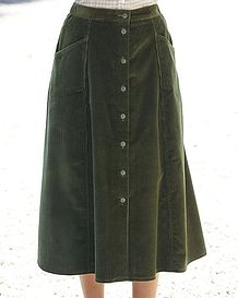 Corduroy Skirts in 6 colours