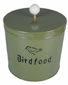 Bird Food Tin