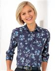 Emma Floral Supersoft Viscose Blouse
