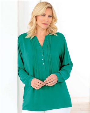 Evelyn Jade Pintuck Tunic