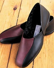 Mens Slippers Handmade Leather Exclusive to James Meade