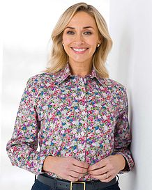 Catherine Floral Pure Cotton Blouse