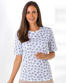 Samara Patterned Pure Cotton Leisure Top