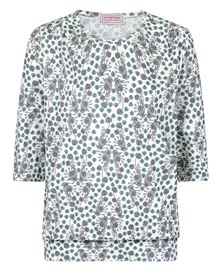 Ally Floral Pure Cotton Blouson Top