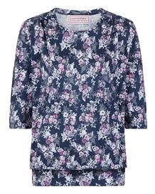 Bethany Floral Pure Cotton Blouson Top