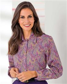 Cecilia Patterned Liberty Print Tana Lawn Blouse