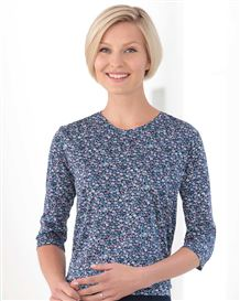 Sophie Floral Pure Cotton Blouson Top