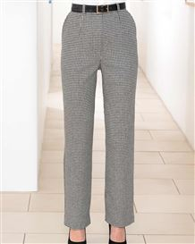 Oxford Checked Wool MixTrousers