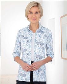 Gaby Patterned Pure Cotton Blouse