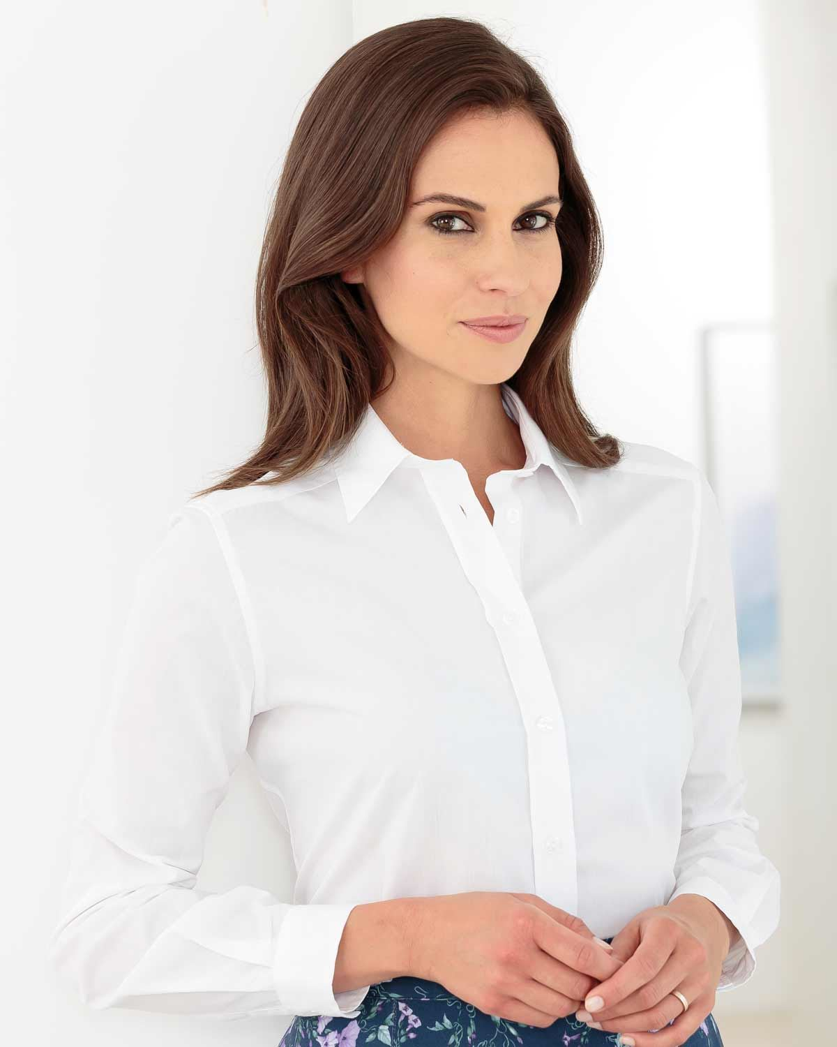 Easycare Plain Polycotton Shirts