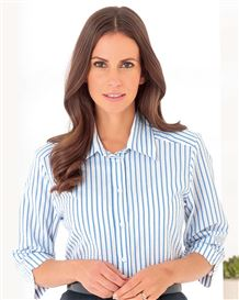 Stella Striped Pure Cotton Blouse