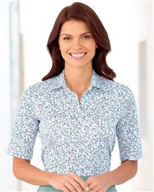 Poppy Multi Coloured Pure Cotton Polo