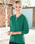 Lambswool Emerald Cable Cardigan