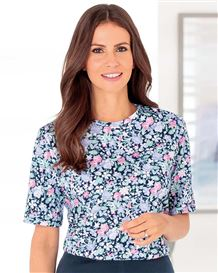 Judith Floral Pure Cotton Leisure Top