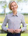 Ladies Country Check Shirt