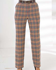 Helston Easycare Classic Check Trousers