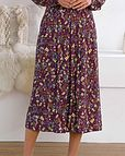 Kate Floral Supersoft Viscose Skirt