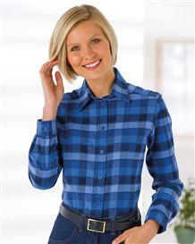 Lola Checked Pure Cotton Blouse