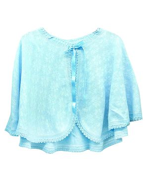 Bed Cape - Blue